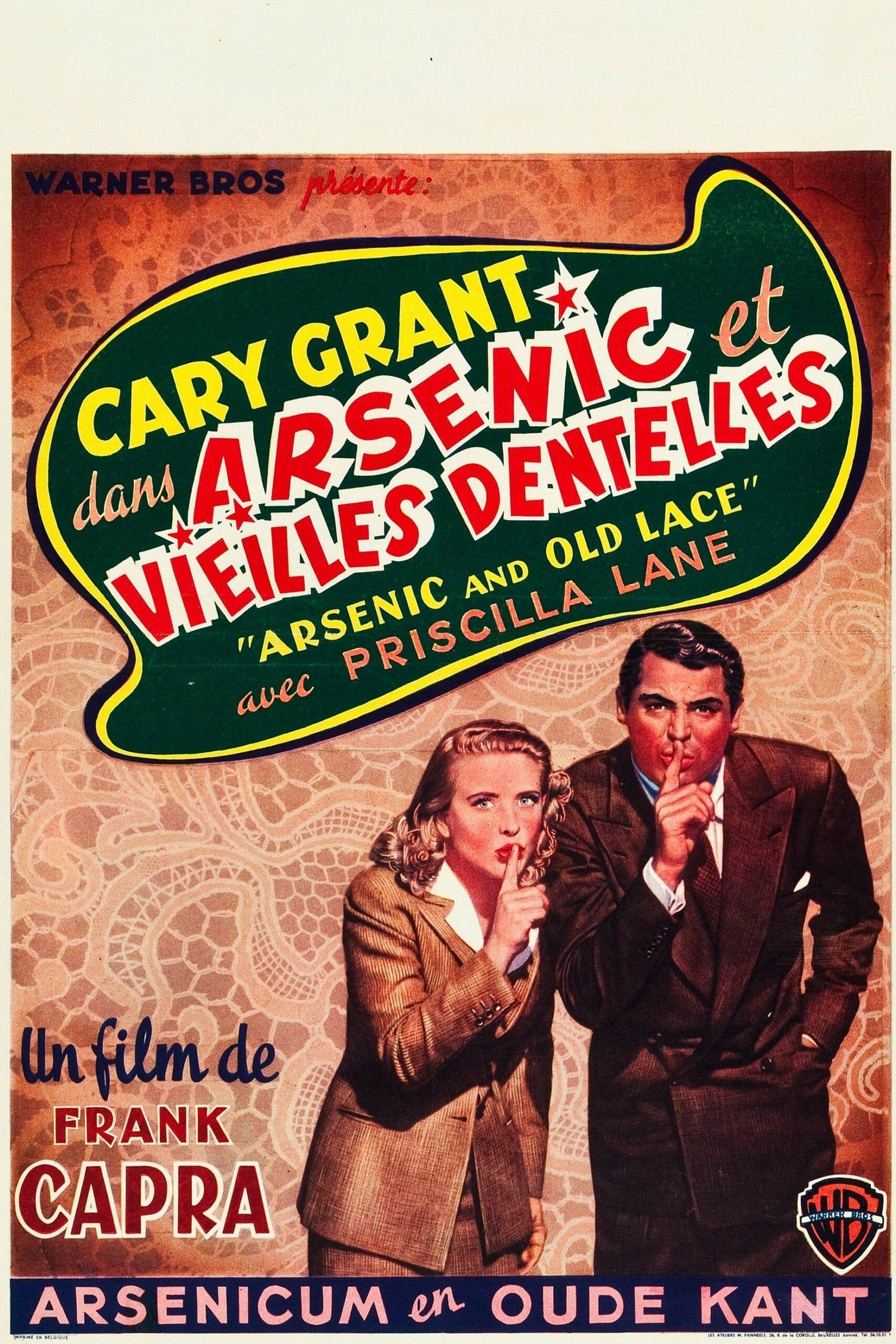 Arsenic Et Vieilles Dentelles Hd Fr Regarder Films