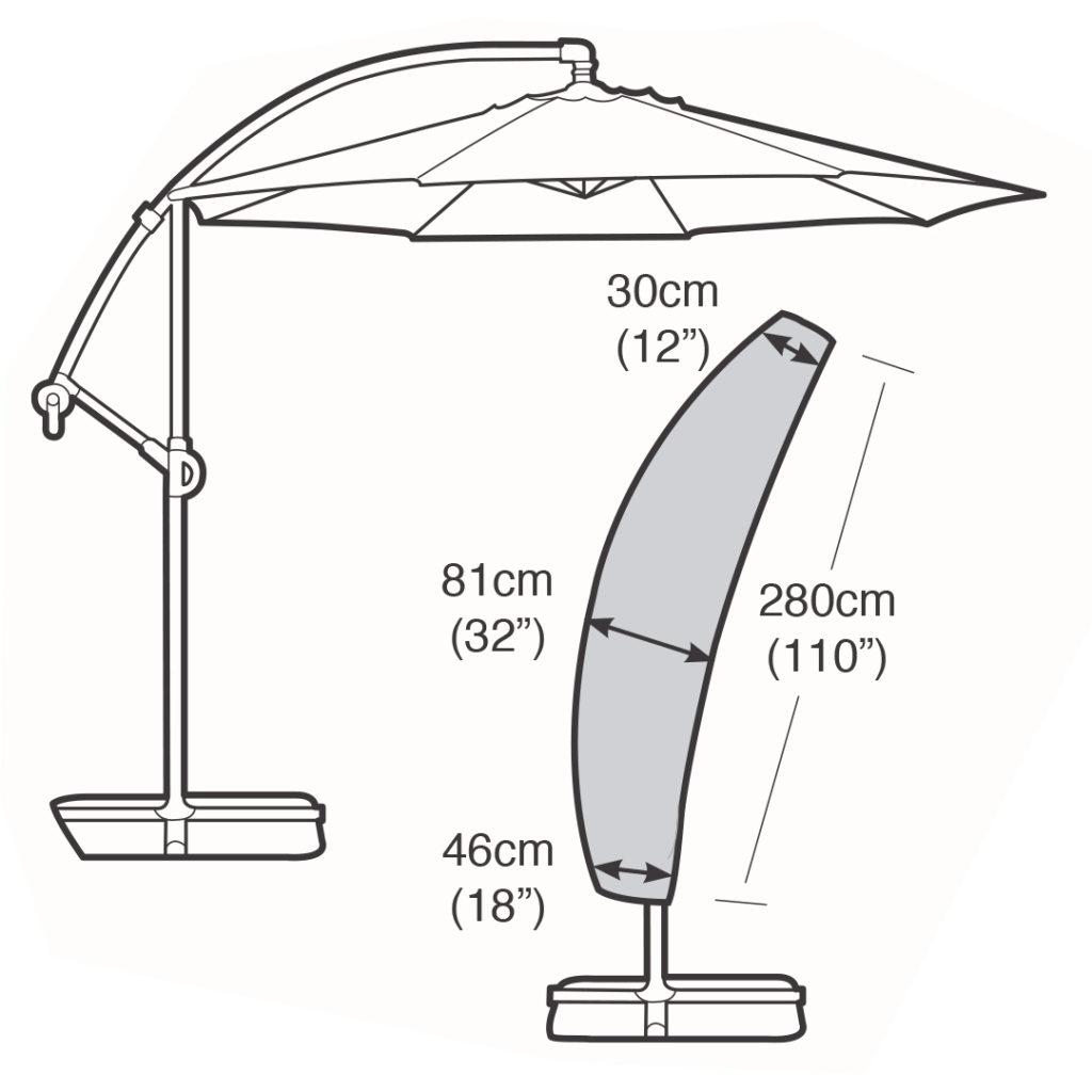 Parasol Cover Sail