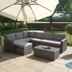 Large Square Corner Sofa Outdoor Dining Set Victoria 3 Regatta Garden Furniture Essex