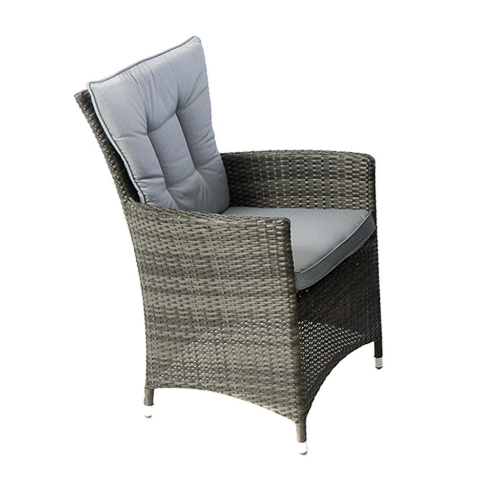 grey weave garden chairs buy office chair kensington club flat rattan mixed