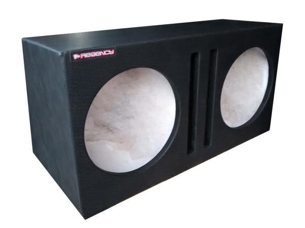 """Cod 429 - Box Duplo 2x15"""" 120L Duto Reto"""