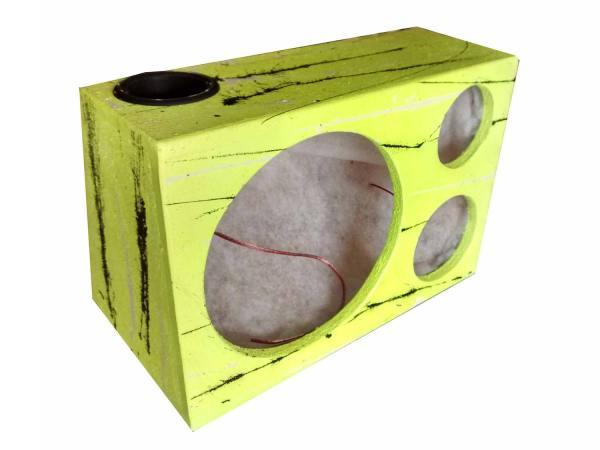 "Cod 475 - Box Trio Light 1x12"" 30L Dutada Amarela"