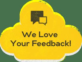 We Love Your Feedback - Regency DRT