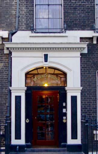 Regency House Hotel In Gower Street London Uk