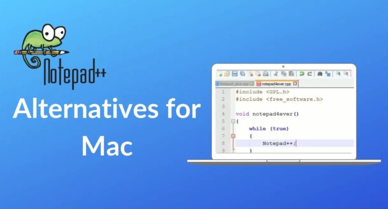Notepad++ Alternative for Mac
