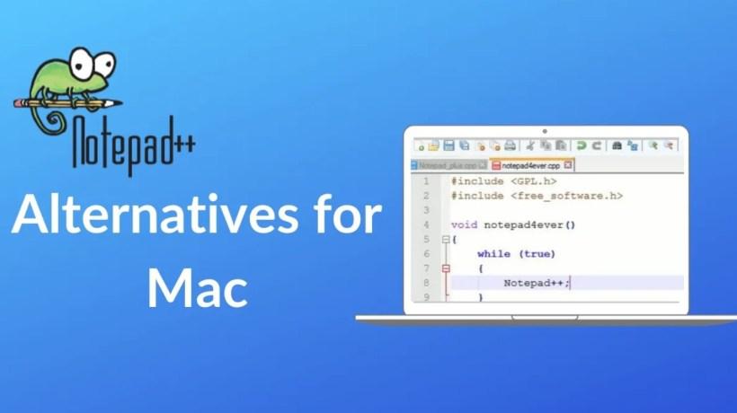 Notepad++ Alternative for Mac