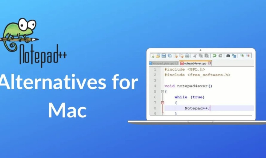 10 Best Notepad++ Alternatives for Mac