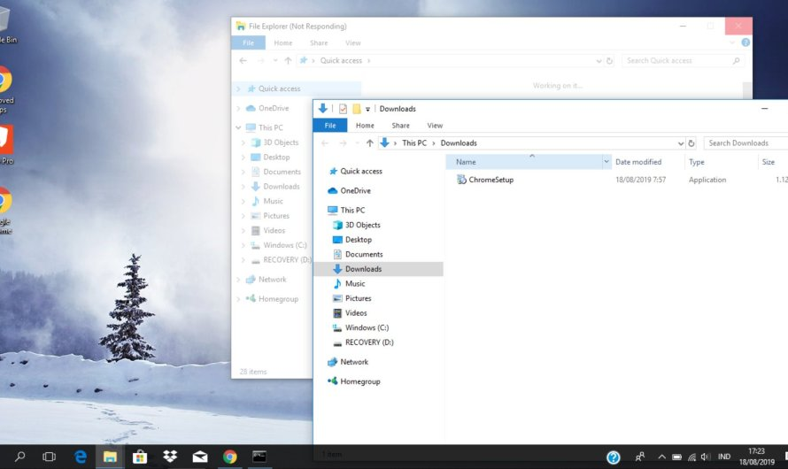 How to Fix File Explorer Not Responding in Windows 10