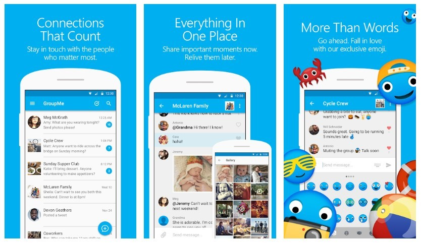 GroupMe Features