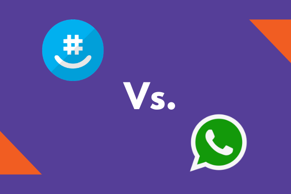 GroupMe vs WhatsApp