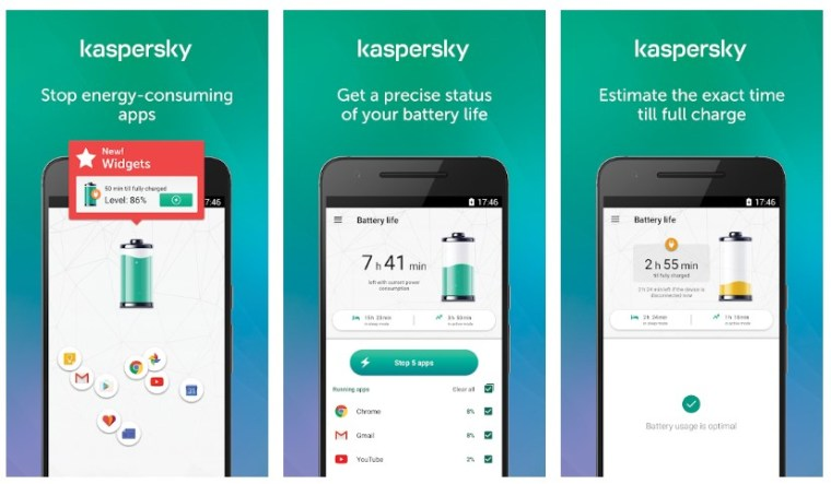 Best Battery Saver Apps for Android: Kaspersky Battery Life