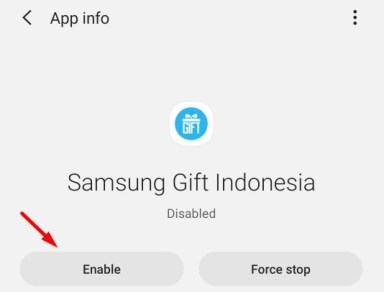 Enable apps