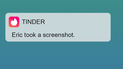 Why are We Afraid of Screenshot Notification?