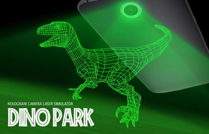 Dino Park Hologram Simulator