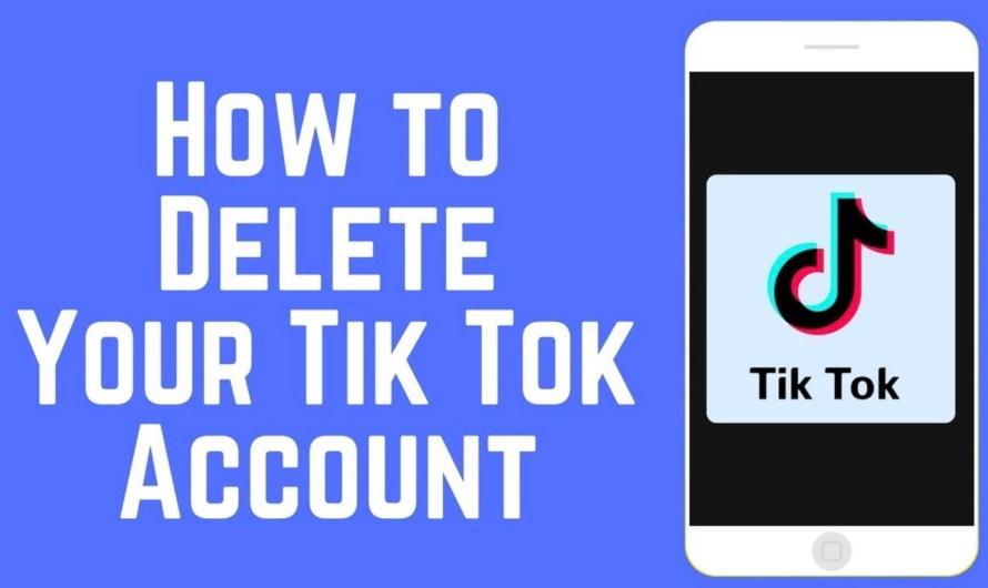 How to Delete TikTok Account Permanently