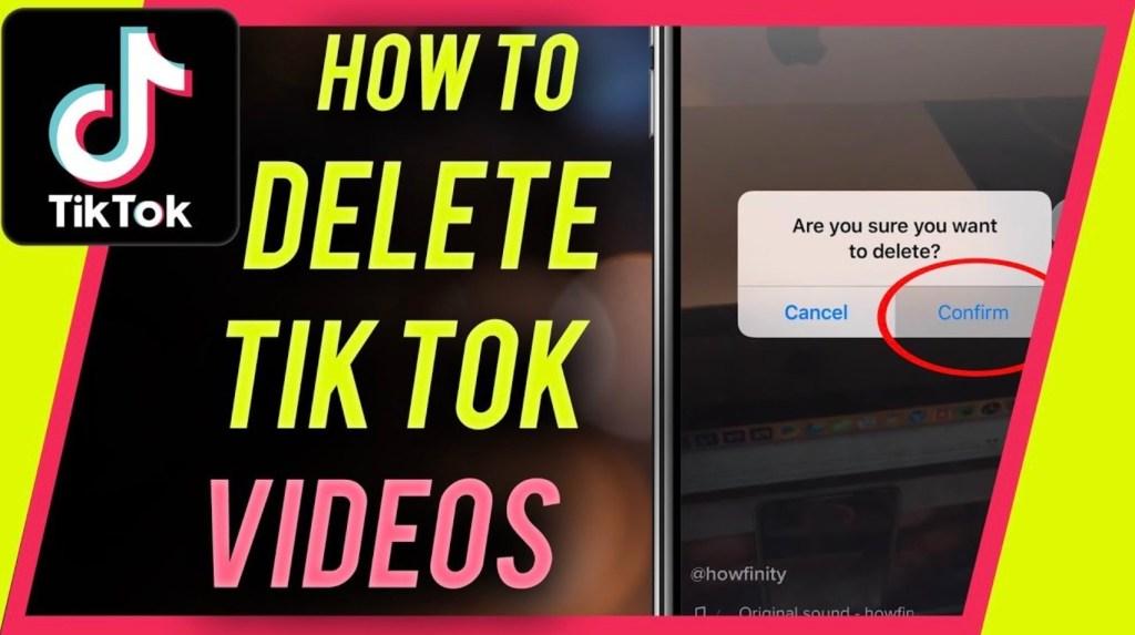 How to Delete a TikTok Video
