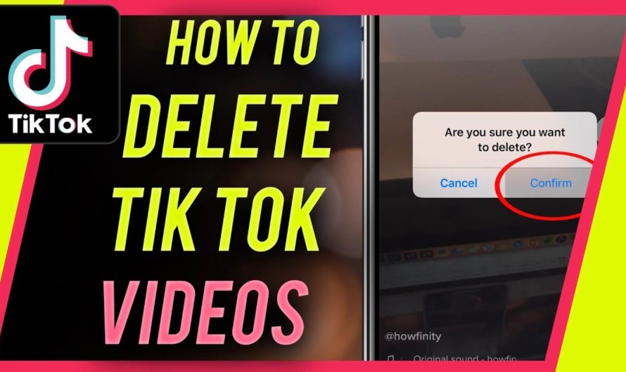 How to Delete a TikTok Video You Have Posted
