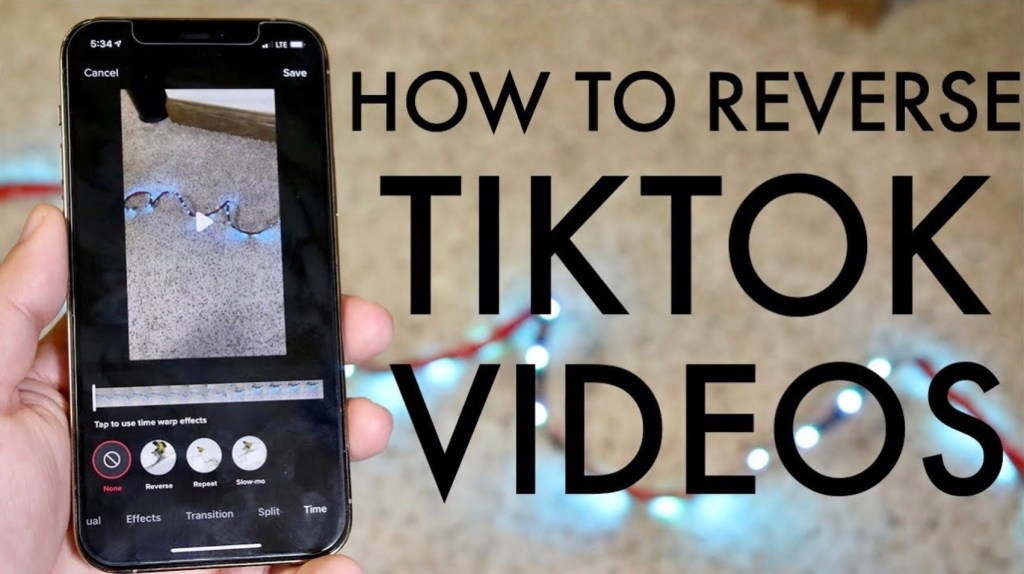 How to Reverse a Video on TikTok