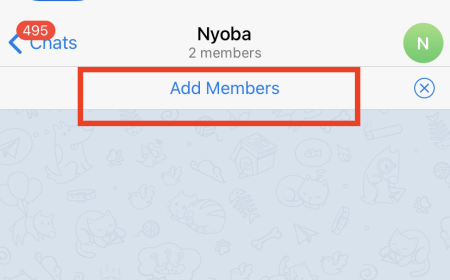 then select Add members