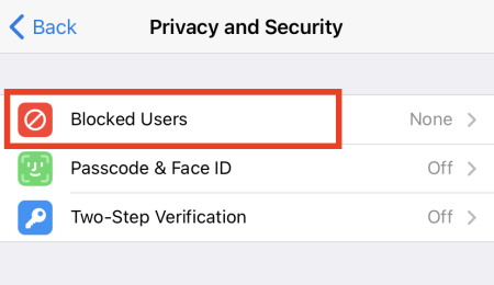 Choose Privacy and Security