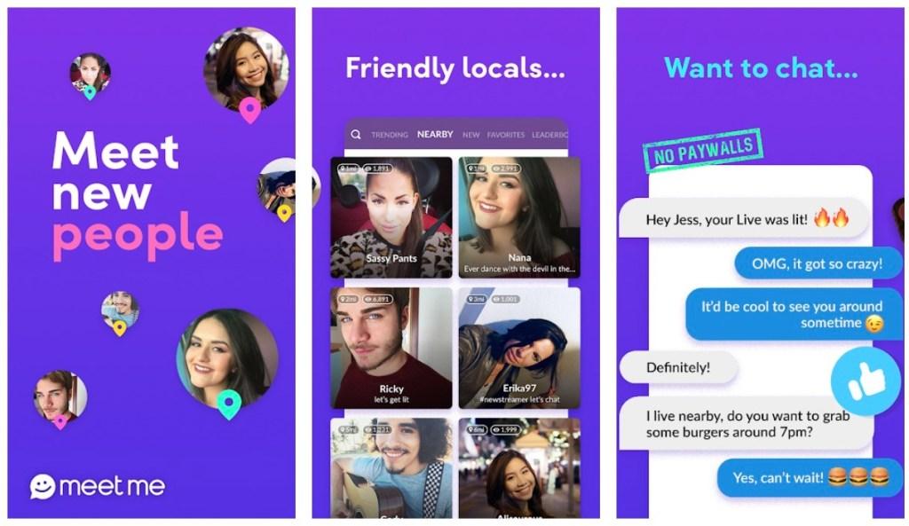 Apps Like Omegle: MeetMe