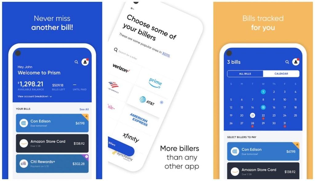 Best Bill Reminder Apps: Prism