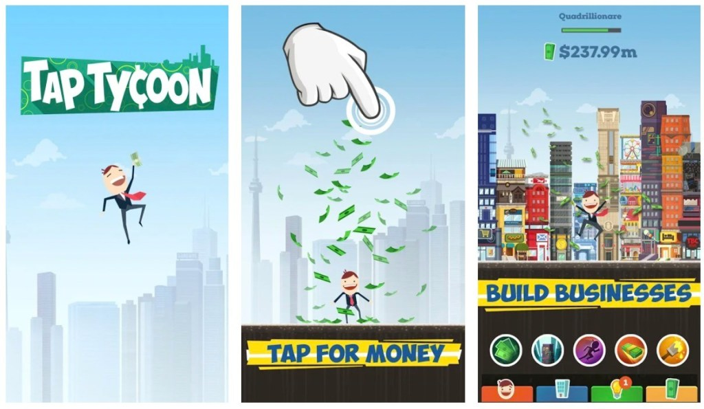 Best Idle Games: Tap Tycoon