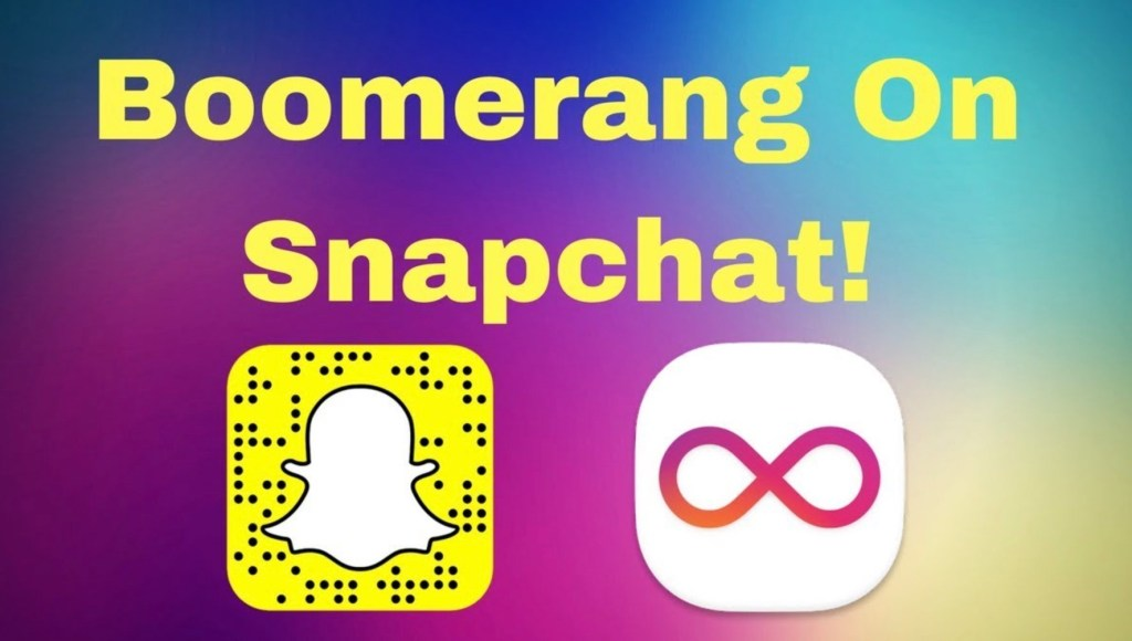 How to Do a Boomerang on Snapchat
