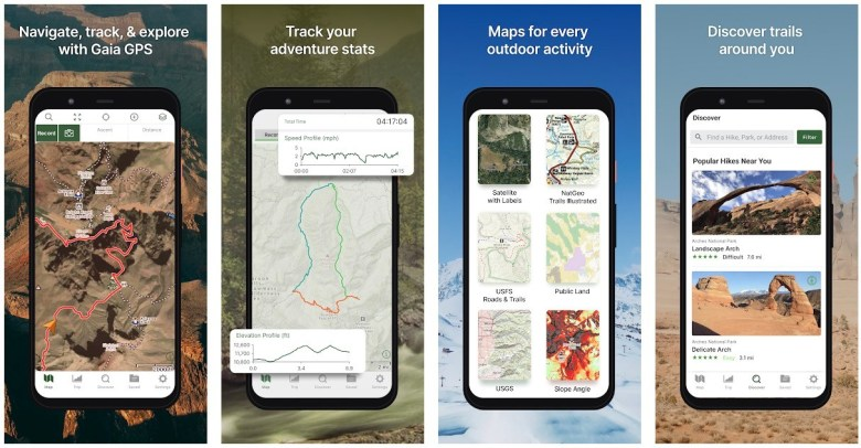 Best Hiking Apps: Gaia GPS