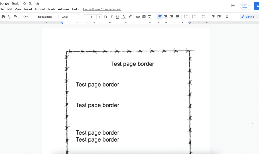 How to Add a Border in Google Docs in Different Ways