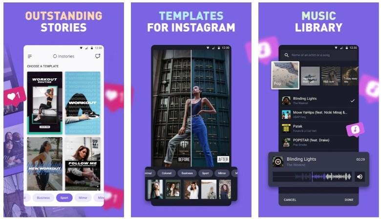 Best Apps for Instagram Stories: InStories