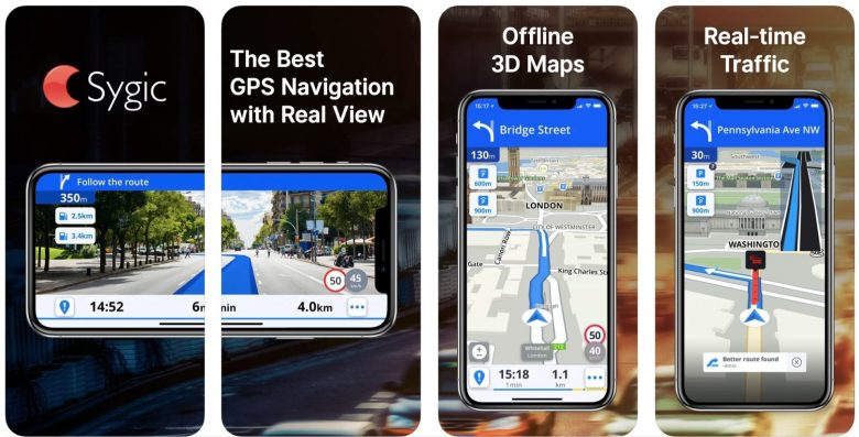 Best Driving Apps: Sygic GPS Navigation