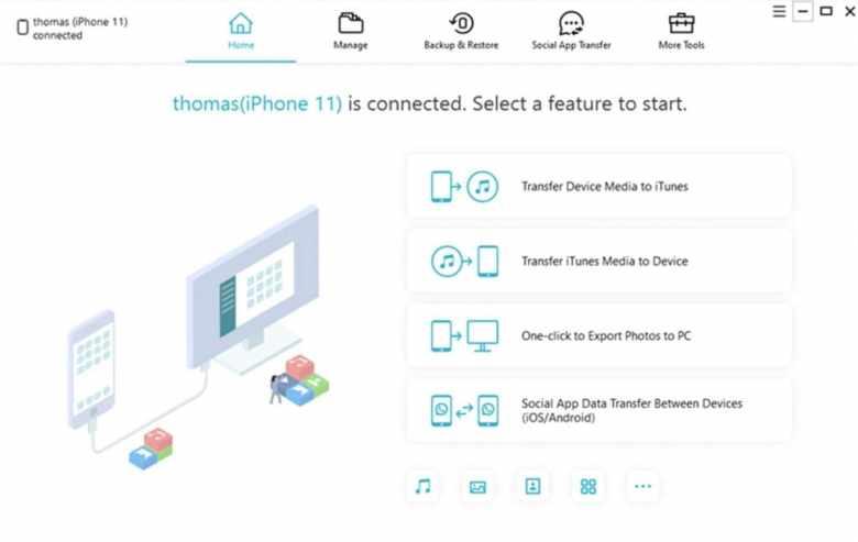 Best iFunbox Alternatives: Tenorshare iCareFone