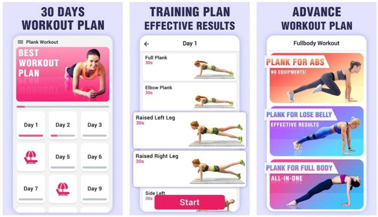 Plank Workout – 30 Day Challenge for Weight Loss