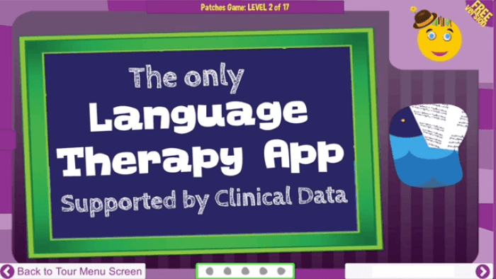 Language Therapy for Children with Autism