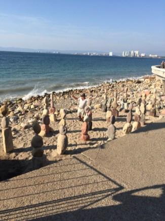 Malecon rock balancers