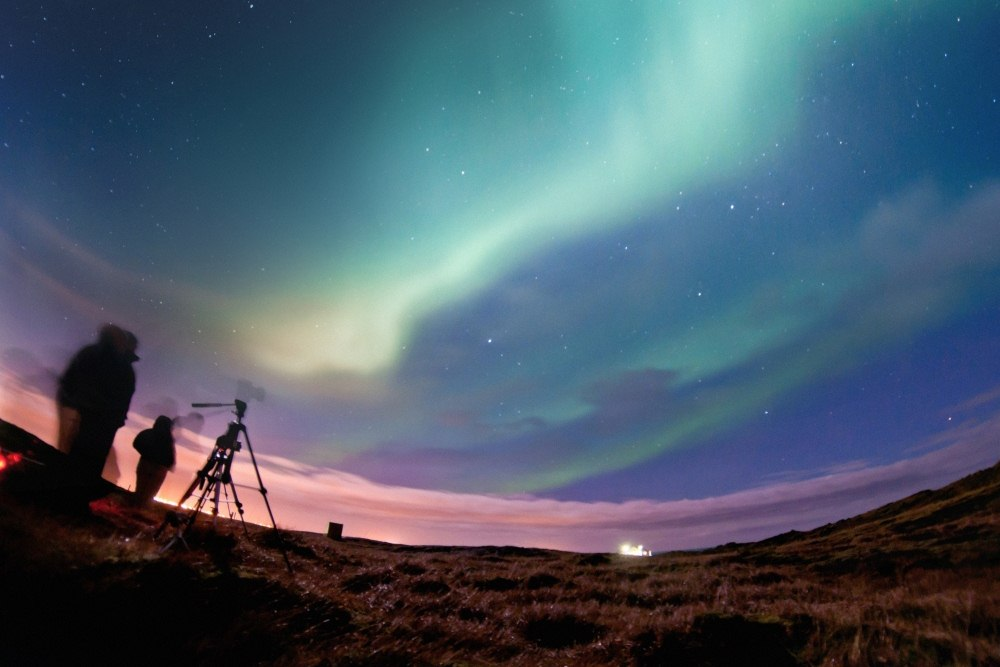 Land Northern Lights