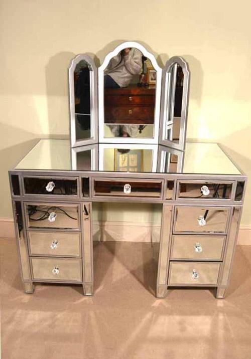 Vanity Mirror Desk