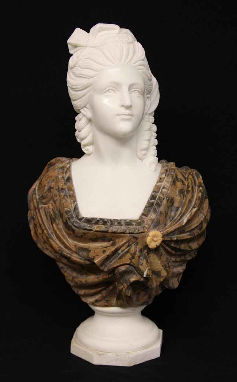 Marble Bust Queen Marie  Ref no 03665  Regent Antiques