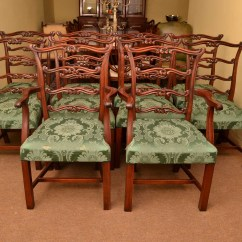Ladderback Dining Chairs Bathtub For The Disabled 10 Vintage Chippendale Ref No