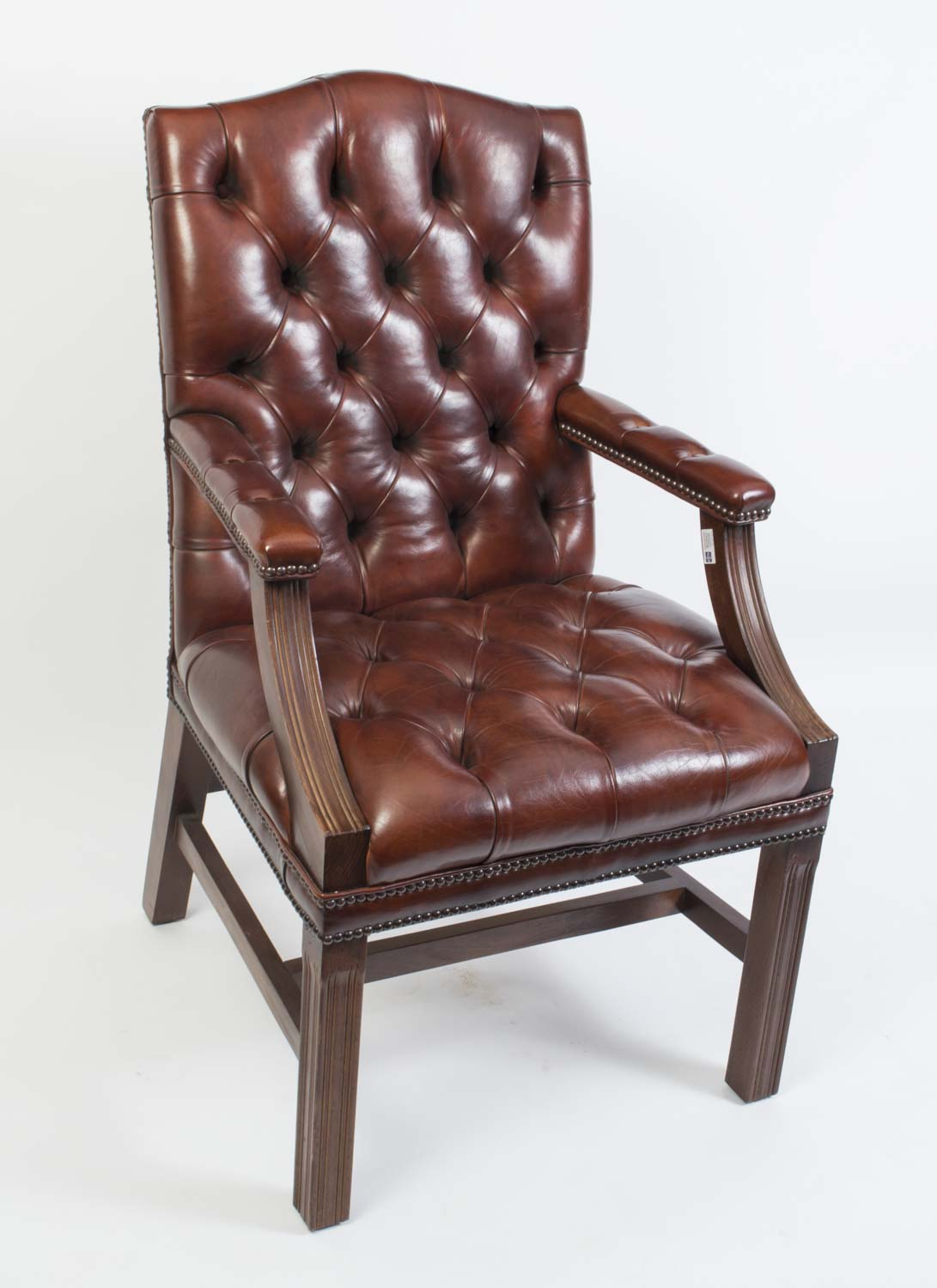 unique leather office chairs chair cover rentals in birmingham al english handmade gainsborough desk ref no