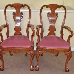 Antique Queen Anne Chair Washington Skeleton Regent Antiques Dining Tables And Chairs Table