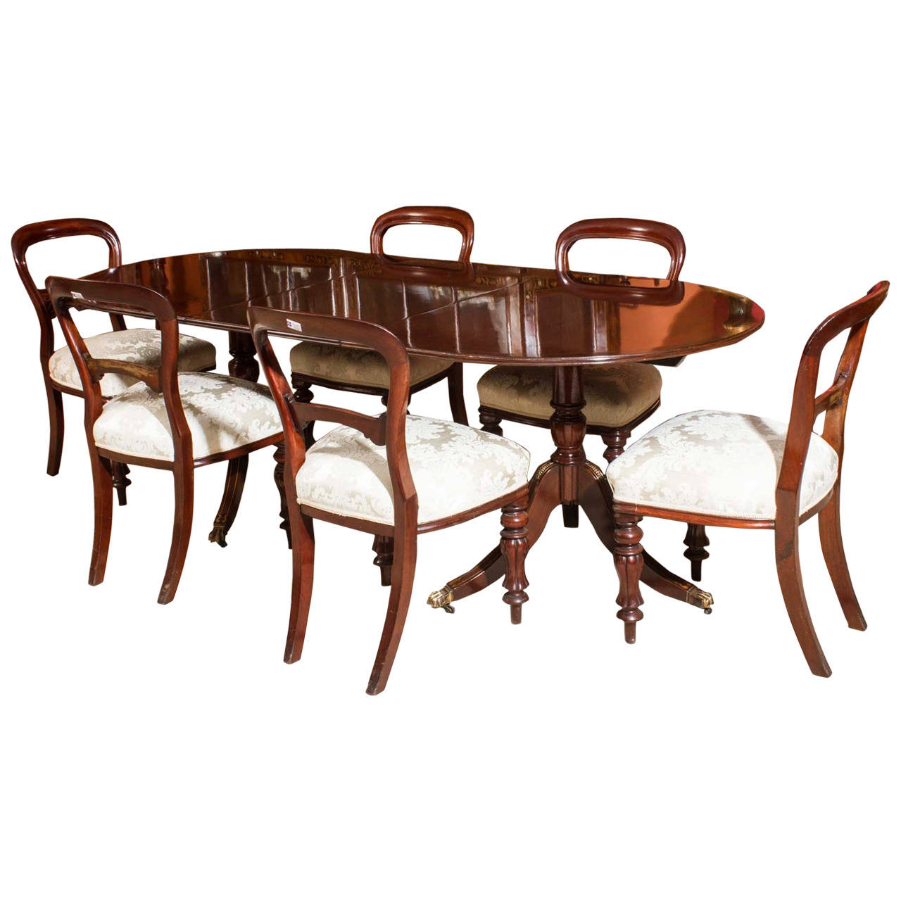 dining chair styles antique cool living room chairs vintage regency style table and 6
