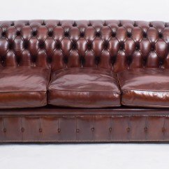 Chesterfield Sofa London Second Hand Replacement Parts For Ikea Bed Bespoke English Leather Bba Ref