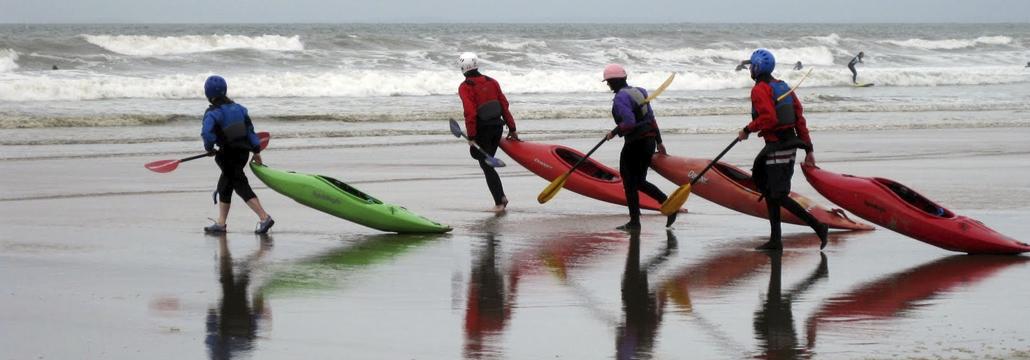 Regents Canoe Club surfing North Devon image by Sean Clarke