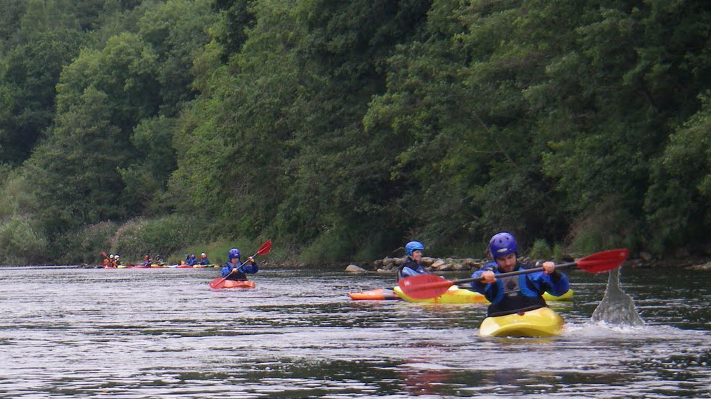 Regents Canoe Club on River Wye
