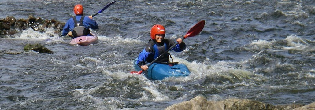 Kayaking at Symonds Yat