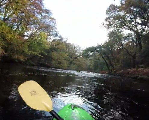 Regents Canoe Club on Dart Loop October 2015