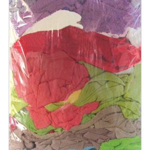 10KG Coloured Terry Towel Cut Wiping Cloth Mechanic Polishing Bodyshop Car Rags - quick-cleaning-supplies