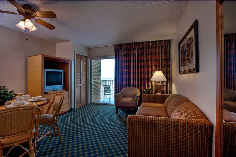 Rooms  Reges Oceanfront Resort
